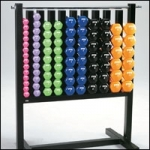 AEROBIC VINYL DUMBELL PAC SYSTEM