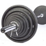 USA HOME 300 lb WEIGHT SET