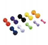 PREMIUM BRIGHT VINYL COATED DUMBBELLS