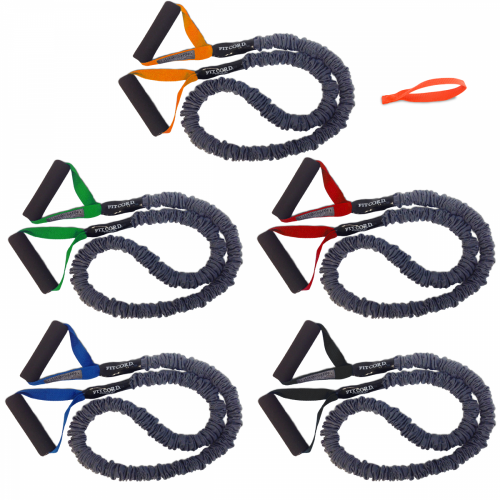 FitCord Resistance Bands - 5 Pack