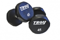 TROY URETHANE 12- SIDED DUMBELL SET