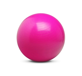 55cm Exercise Ball - PINK